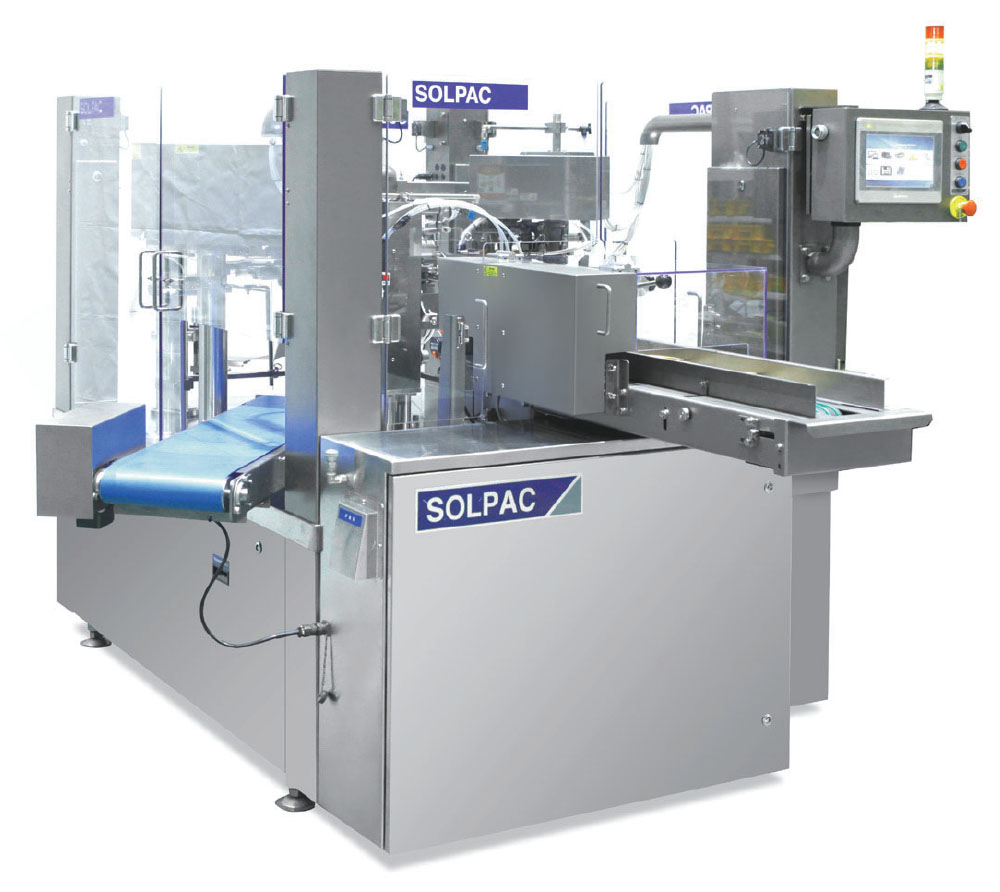 - Solpac S Series Rotary Simplex Pouch Packaging Machines