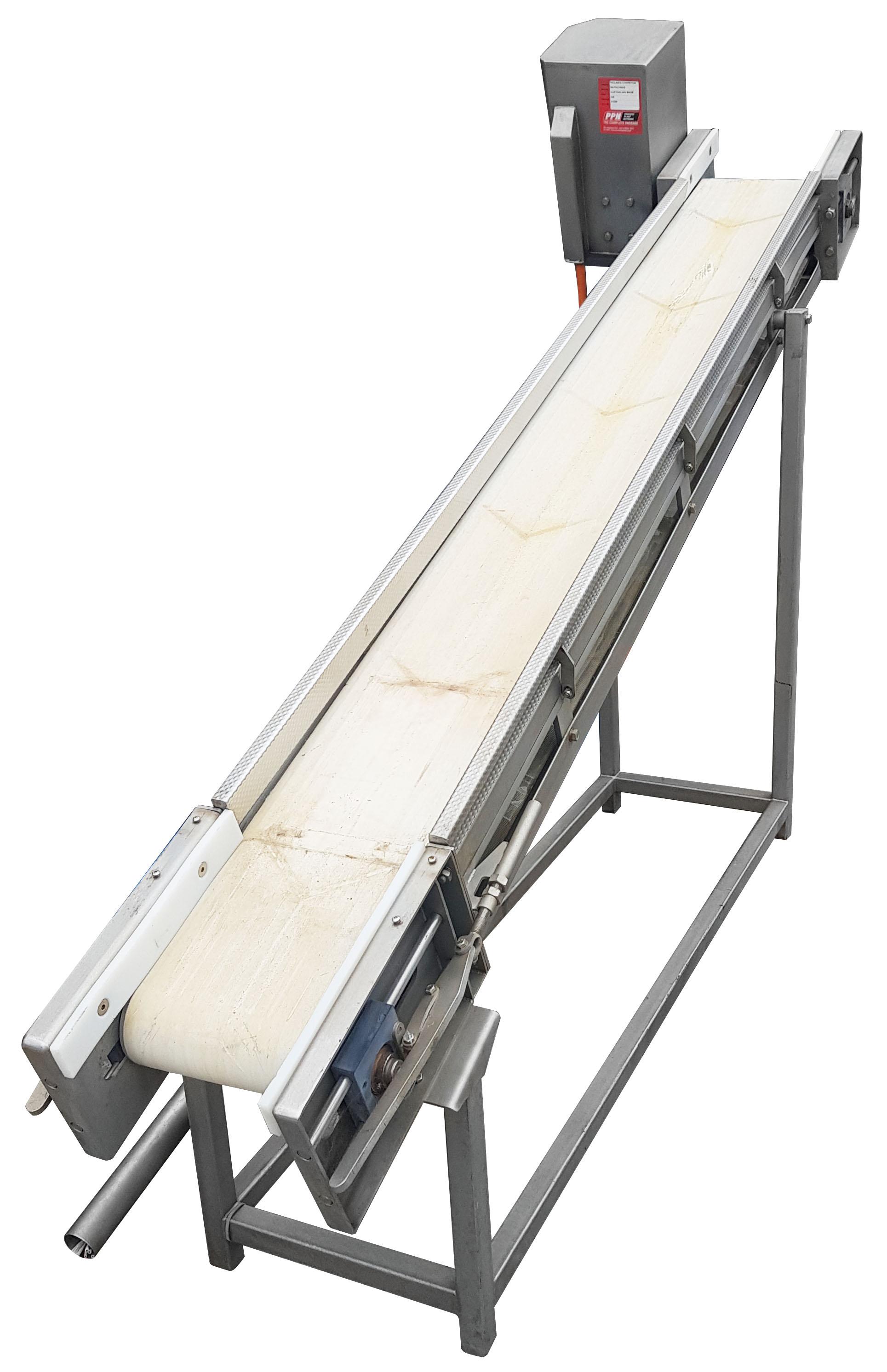 - Australian Made Inclined Conveyor