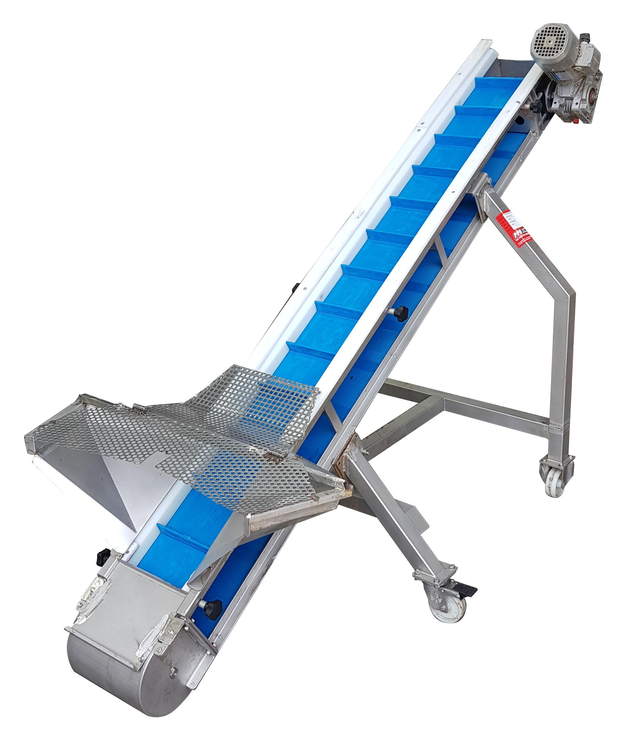 - Tripax Incline Cleat Belt Conveyor (Mobile)